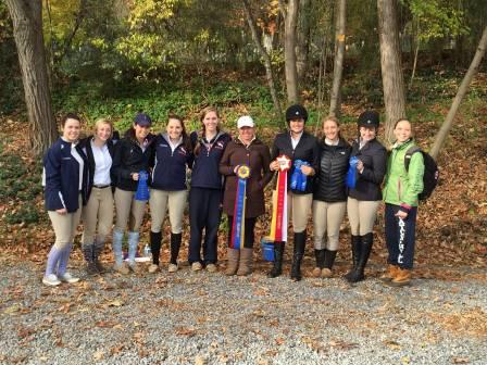 Equestrian Group photo